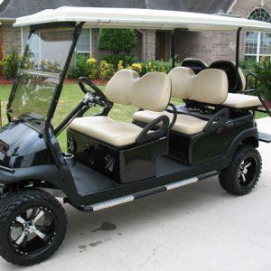 6 passenger golf cart